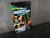 Notice Mode D'emploi Need For Speed Underground 2 Nintendo Gamecube (pas de jeu)