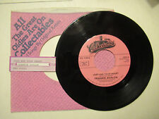 FRANKIE AVALON just ask  your heart / two fools COLLECTABLES  JUKEBOX STRIP 45