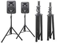 Boxenstative Stativ Hochständer für Audio Lautsprecher 2 Stück PA Boxen Speaker