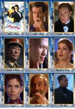 Die Another Day - James Bond movie Trading cards 007