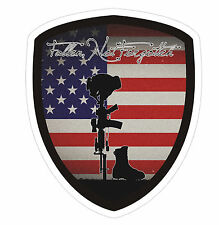 Fallen Soldier Ford F-150 Super Duty Window Sticker Decal Army Marine Navy