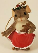 Charming Tails - Mouse Gingerbread - Ornament