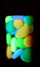 Pebbles, Stone Night Light Glow in the Dark Multi -16pcs Aquarium