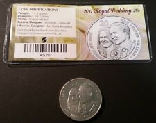 AUSTRALIA • 20c • 2011 • Royal Wedding • aUnc./Unc. in private company packaging