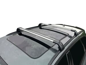 Alloy Roof Rack Cross Bar for BMW X5 F15 2013-18 With Flush Rails Lockable