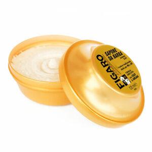 Figaro Gold Sapone da Barba con formula arricchita all'olio di argan 150 ml