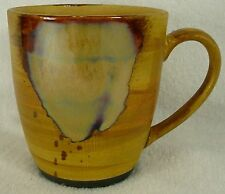 SANGO china SPLASH BROWN 4951 pattern MUG 4""