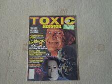 TOXIC HORROR MAGAZINE ISSUE 1
