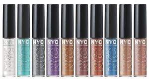 NYC New York Color SPARKLE EYE DUST Eyeshadow, Full-Size Sealed  Free Shipping!
