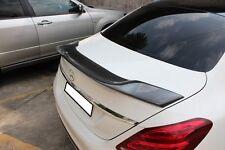 Mercedes Benz W205 Carbon Spoiler Heck Spoiler Heckspoiler Hecklippe AMG