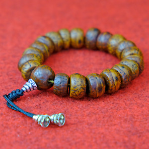 Bodhi Bracelet Tree Braun Men's Jewelry Nepal 13mm Buddha s66