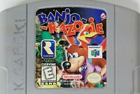 Banjo Kazooie Nintendo 64 N64 Authentic Tested Game 1998 Cartridge-Only Working