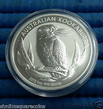 2012 Australia $1 Kookaburra 1 oz 999 Fine Silver Coin in capsule