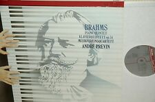 BRAHMS:piano quintet OP.34*PREVIN/MUSIKVEREIN QT*PHILIPS  DIGITAL  HOLLAND*
