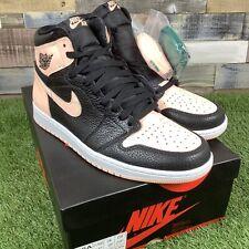UK9.5 Nike Air Jordan 1 Retro High OG Trainers - Crimson Tint / Black - EU44.5