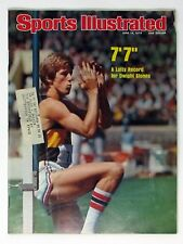 """Sports Illustrated June 14, 1976 --  Dwight Stones -- A Lofty Record 7'7"""""""