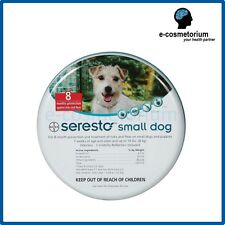 Bayer Seresto Flea & Tick Collar for Small Dogs under 8kg (18 lbs) and Cats