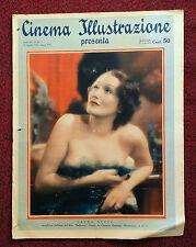Cinema Illustrazione 1936 XI n° 16 Laura Nucci   23/12