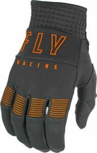 2021 FLY Racing - F-16 Gloves - GREY/ORANGE - SIZE 09 - MEDIUM - 374-91609 -