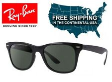 a16819bc2 Ray Ban Wayfarer Liteforce RB4195 601/71 Black with Green Polarized Lenses