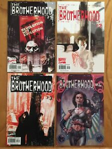 BROTHERHOOD #1 - #7 | 7 CONSECUTIVE ISSUE BUNDLE FROM 2001