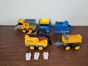 Rokenbok System Vehicle Lot Monorail Forklift RR 415 B1210 FL427 2625 with Chips