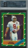 1986 Topps Football #374 Steve Young RC Rookie HOF GAI 9.5