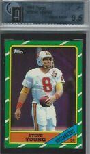1986 Topps Football #374 Steve Young RC Rookie HOF BGS PSA GAI 9.5