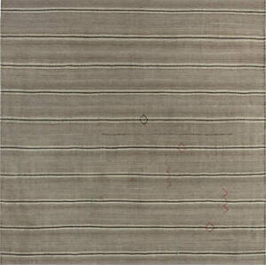 Kilim Rug in Shades of Beige, and Brown BB7300
