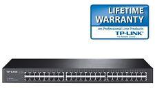"Netzwerk Switch 48 Ports 19"" RACK 10/100/1000 Mbit LAN Gigabit TP-Link TL-SG1048"