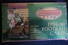 1996 BOWMAN'S BEST FOOTBALL HOBBY BOX RAY LEWIS NEW SEALED