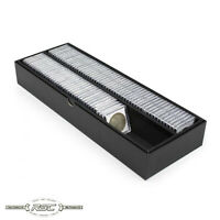 """BCW Double Row 2"""" x 2"""" Coin Box - Holds 102 Coin Snaps or 330 Paper Coin Flips"""