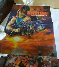 RAMBO 2 first blood - Multi Image Lenticular 3D Flip Magnet Cover FOR steelbook