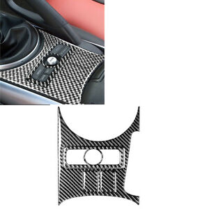4PCS For Mazda RX-8 2004-08 Carbon Fiber Gear Shift Button Panel Sticker Trim