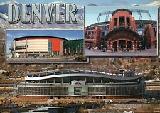 Denver Colorado Sports Arenas, Mile High Coors Field & Nuggets, Stadium Postcard
