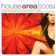 HOUSE AREA 2008.1 2 CD NEUWARE MIT ROGER SANCHEZ; R.I.O UVM.