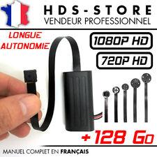 MODULE CAMERA BOUTON ESPION FULL HD 1080P + MICRO SD 128 GO DÉTECTION VIDÉO 720P