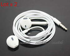 2x Original  Apple iPod earPods earbuds for Apple nano 7th itouch5 mp3 player