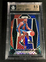 DENNIS SMITH 2017 PANINI PRIZM RED WHITE BLUE REFRACTOR ROOKIE RC GEM BGS 9.5