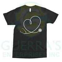 T-Shirt Stethoscope Doctor Nurse Clinician Cool Funny Gift Present Tee T Shirt