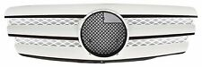 Front Grille Mercedes Benz W211 E-Class 2002-2006 Chrome & White CL Style