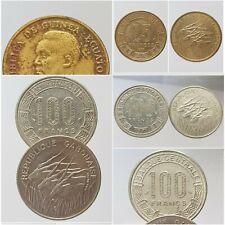 Monnaies CONGO / TCHAD / GABON / GUINEE EQUATORIALE Choisissez votre monnaie
