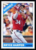 2015 Topps Heritage 440b Bryce Harper Action SP