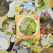 Totoro Mini Stickers 46 Pc Pk, Cute Kawaii Decorative Scrapbooking Sticker Set
