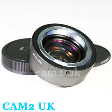 Focal Reducer Speed Booster Adapter M42 screw lens to Canon EOS M EF-M M3 M10