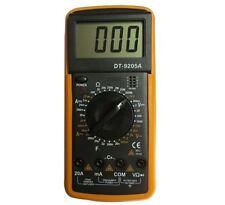 MULTIMETRO MULTÍMETRO DIGITAL PANTALLA LCD PROFESIONAL DT-9205A PANTALLA LCD