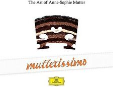 Anne-Sophie Mutter - Mutterissimo - the Art of Anne-Sophie Mutter [New CD]