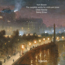 York Bowen : York Bowen: The Complete Works for Violin and Piano CD (2013)