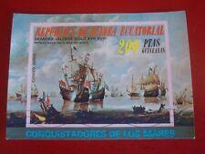 EQUATORIAL GUINEA: 1972 SEA CONQUEST 2  MINISHEET UNMOUNTED USED MINIATURE SHEET