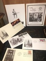 Variety Stamps First Day of Issue President Gerald Ford
